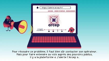J'alerte l'Arcep - présentation de la nouvelle version de la plateforme de signalement (février 2021)