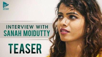 Sanah Moidutty Interview _ Teaser _  Sanah Moidutty @ Sapthaa Records