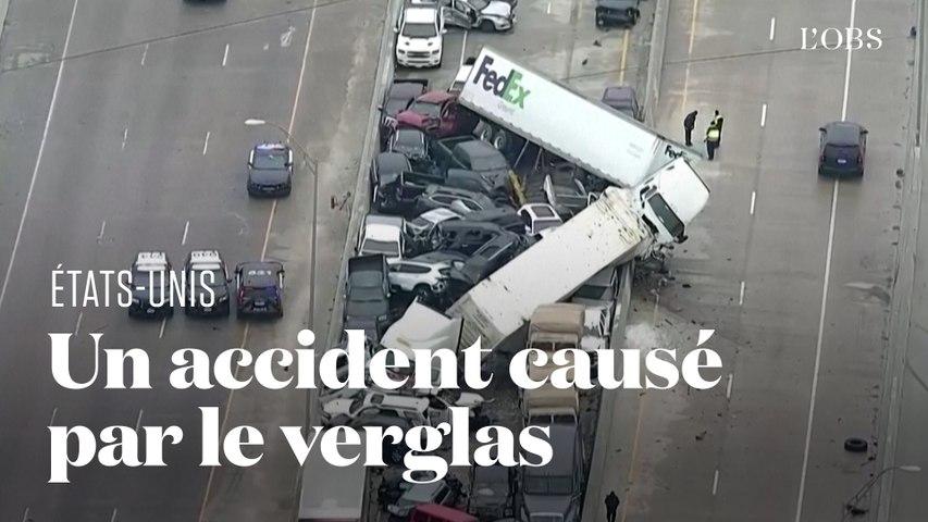 Un carambolage géant fait six morts sur une autoroute du Texas