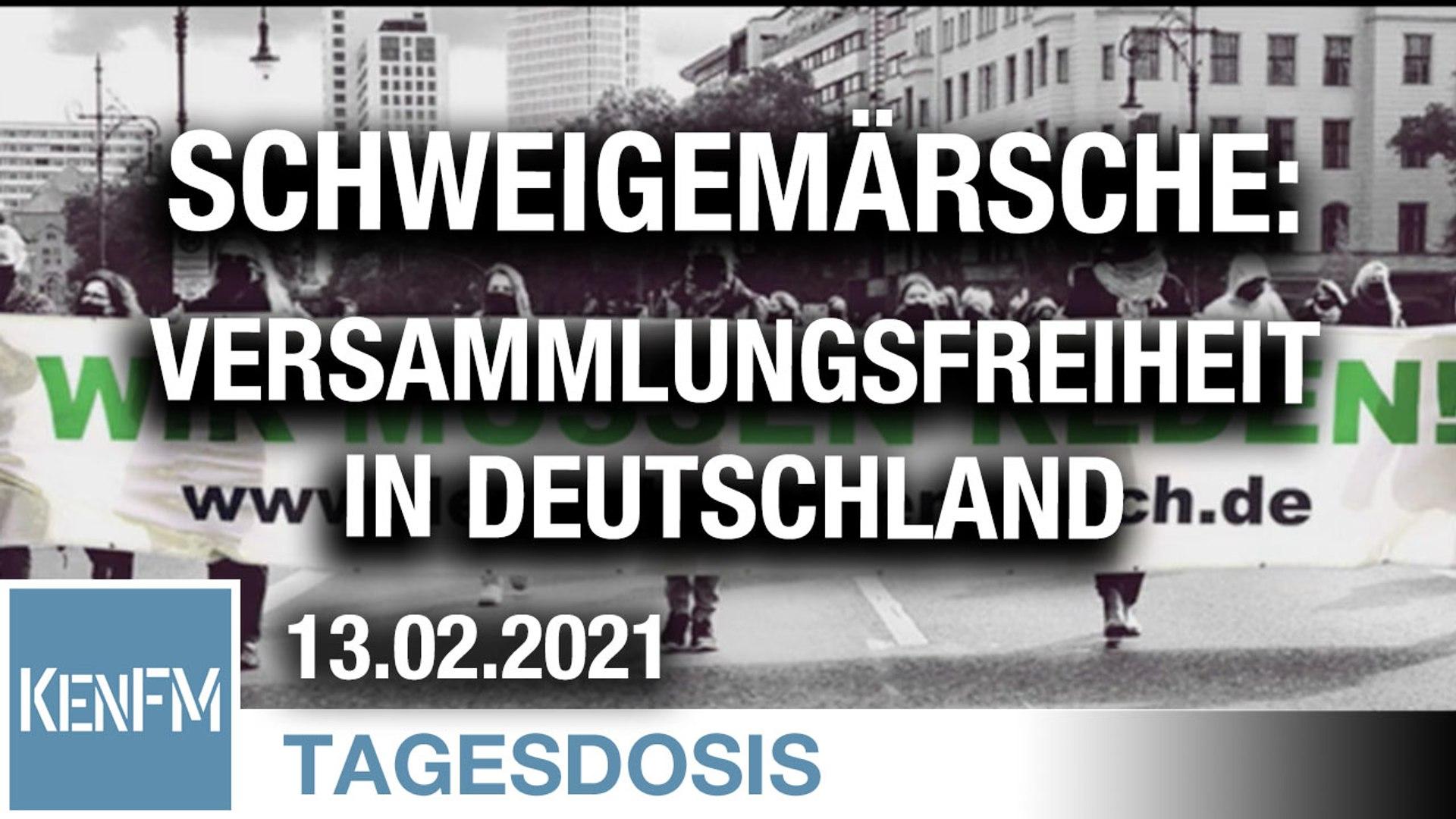 Schweigemärsche: So sieht Versammlungsfreiheit in Deutschland aus