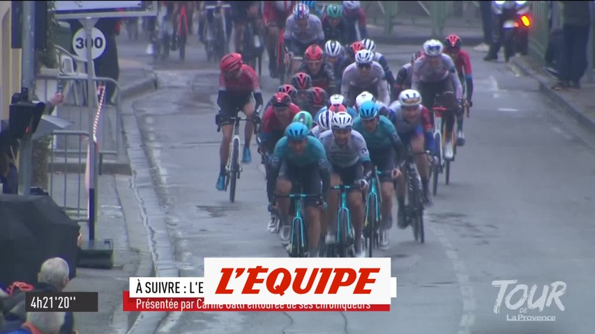 Ballerini double la mise, Alaphilippe chute - Cyclisme - Tour de La Provence
