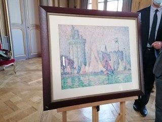 Après son vol en 2018, une toile de Paul Signac est restituée à la ville de Nancy