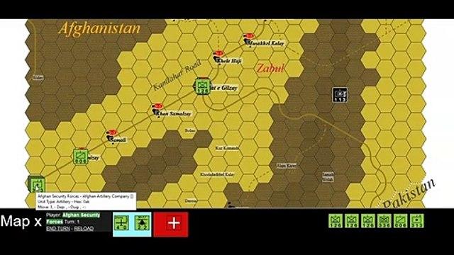 Kandahar Road Qalat to Sahr e Safa - Afghanistan, Asia, 2021