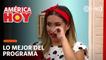 América Hoy: Ethel Pozo llora tras ser sorprendida con ramo de rosas
