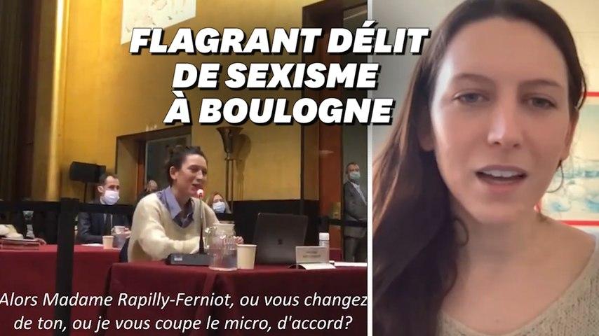 À Boulogne, l'élue Pauline Rapilly-Ferniot coupée en plein conseil municipal témoigne