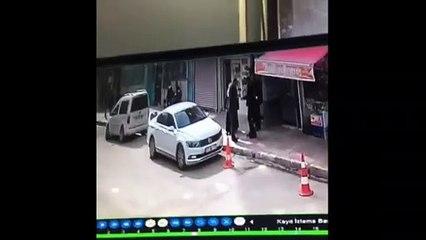 Nusaybin'de İş Adamına Saldırı anı güvenlik kamerasında