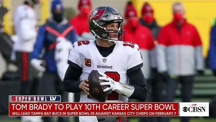 CBS Sports NFL analyst on Tom Brady's 10th Super Bowl appearance