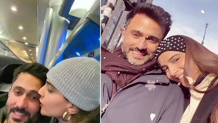 Sonam Kapoor Anand Ahuja ROMANTIC Kissing VIRAL VIDEO | Boldsky