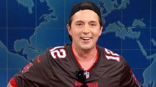 Weekend Update: Drunk Tom Brady on Super Bowl LV