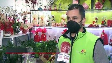 Amor y Coronavirus, protagonismo compartido en el día de San Valentín
