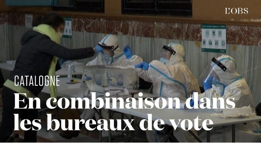 L'impressionnant dispositif pour faire voter les malades du Covid en Catalogne