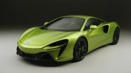 マクラーレン、新しい次世代のハイパフォーマンス・ハイブリッド・スーパーカー、McLaren Arturaを発表