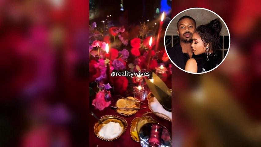 Michael B Jordan & Lori Harvey's Valentine's Date