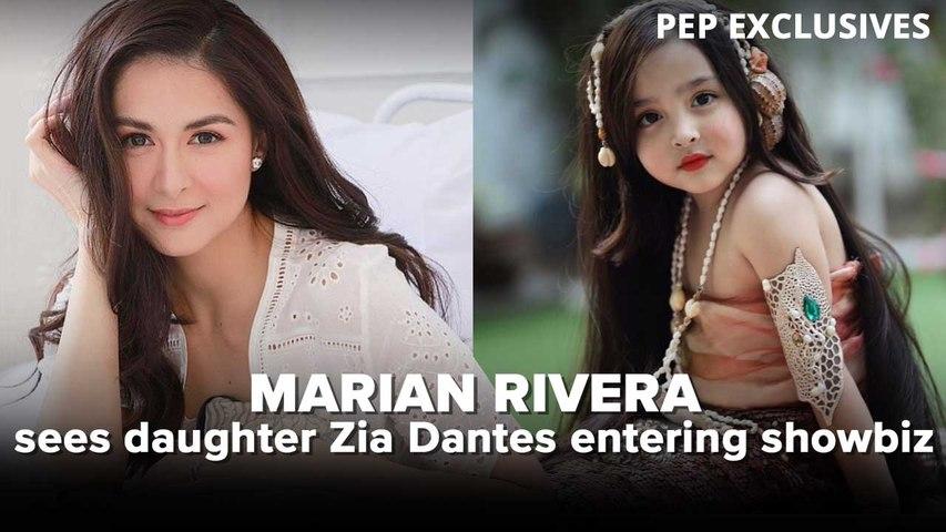 Marian Rivera knows daughter Zia Dantes wants to enter showbiz   PEP Exclusives