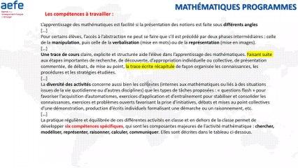 Oral Maths Sciences Programmes