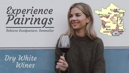 (S5E30) Experience Pairings with Rebecca Goodpasture, Sommelier - Dry White WInes