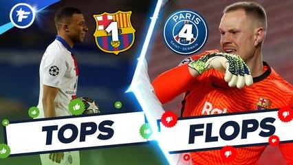 Les Tops et Flops de FC Barcelone-PSG