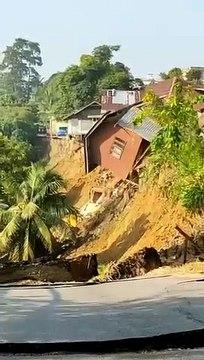 Pasir Mas MP: 50 forced from homes by landslide near Sungai Kelantan