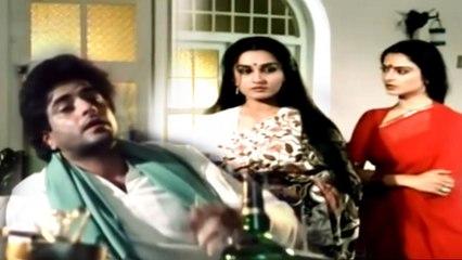 """जीतेन्द्र, रेखा, रीना रॉय सुपरहिट मूवी सीन """"PREM TAPSHYA"""" Hindi Movie Scene"""