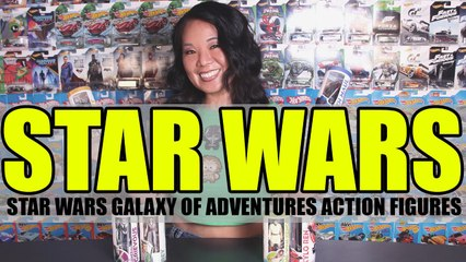 Star Wars Galaxy of Adventures Action Figures