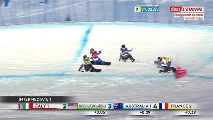 Le bronze pour les Bleus par équipes - Snowboardcross - Mondiaux