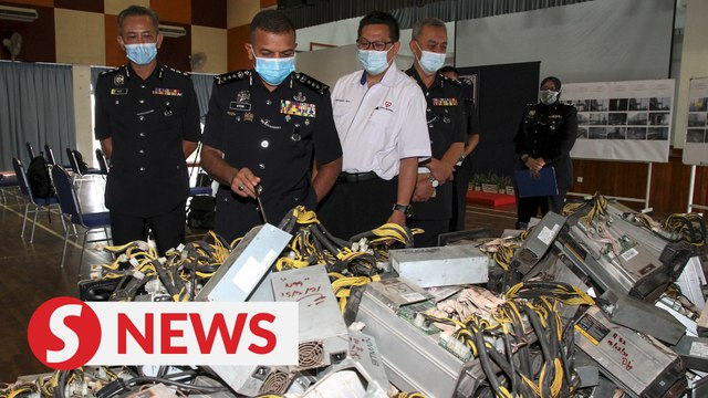 Johor cops bust bitcoin mining syndicate for electricity theft