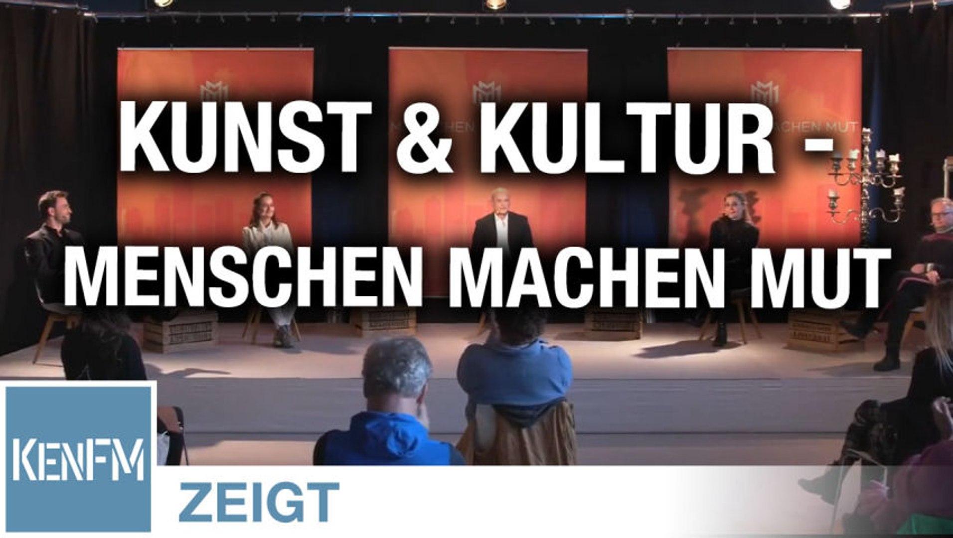 Kunst & Kultur – Livestream 14.02.21 Menschen Machen Mut
