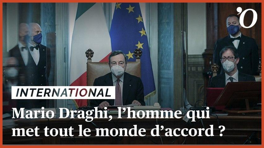 Gouvernement d'union nationale en Italie: Mario Draghi, l'homme qui met tout le monde d'accord ?