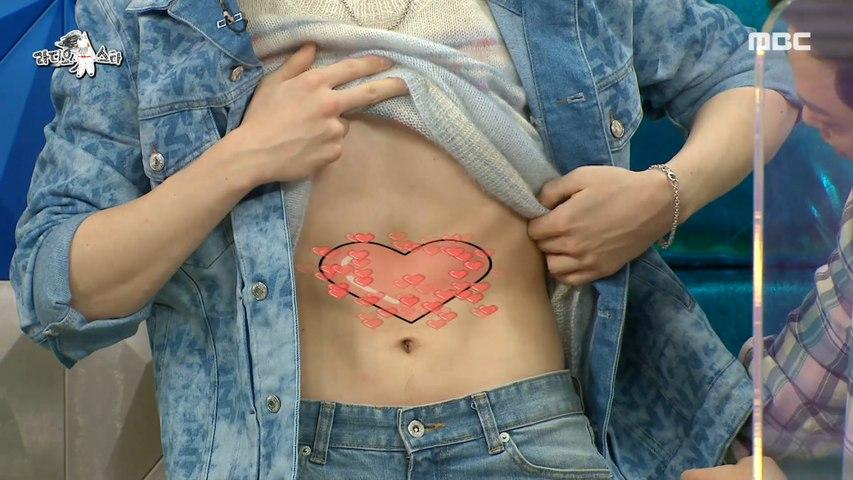 [HOT] Kang Daniel's heart-shaped abs., 라디오스타 20210217