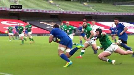 Irlanda v Francia - Momenti Salienti  2021 Guinness Sei Nazioni