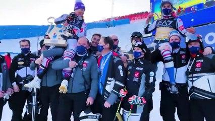 Backstage - Jour 10 - Championnats du Monde, Cortina