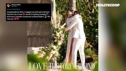 Paris Hilton Gets ENGAGED & Celebrity Friends REACT!