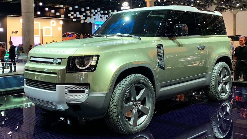 Jaguar Land Rover at IAA Frankfurt 2019