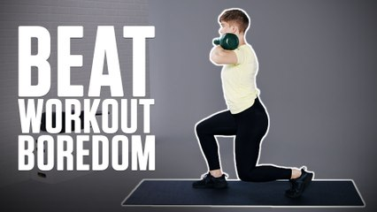Beat Boredom With This Unique Total-Body Workout With Hannah Myett