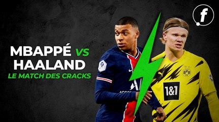 Mbappé vs Haaland : le match des cracks