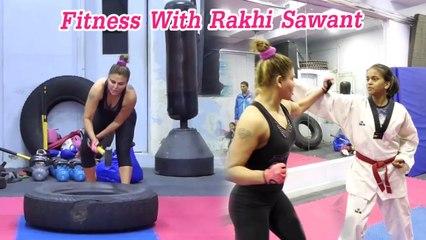Fitness With Rakhi Sawant