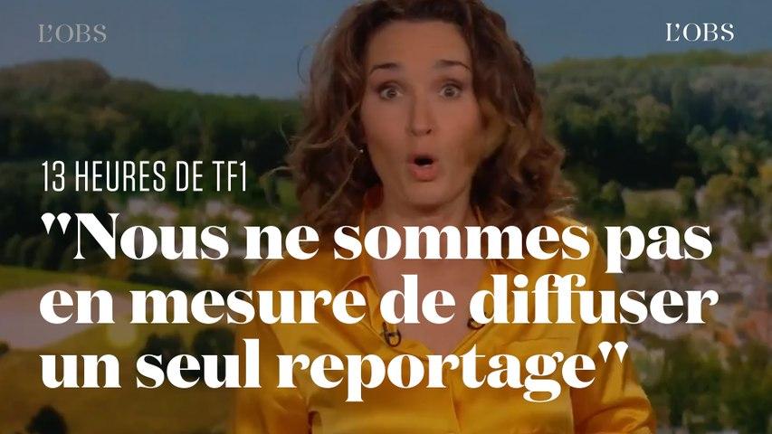 Le JT de 13 heures sur TF1  annulé en raison d'un problème technique
