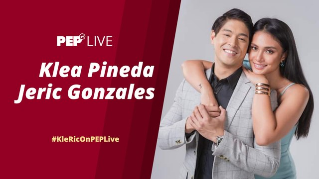 WATCH: Klea Pineda and Jeric Gonzales on PEP Live!