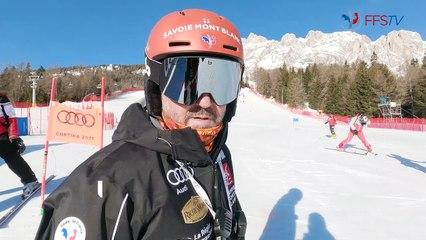 Backstage - Jour 11 - Championnats du Monde, Cortina