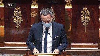 """La proposition de loi visant à créer un fonds d'indemnisation pour les victimes de la covid-19, """"n'est pas une réponse réaliste"""" selon Adrien Taquet."""
