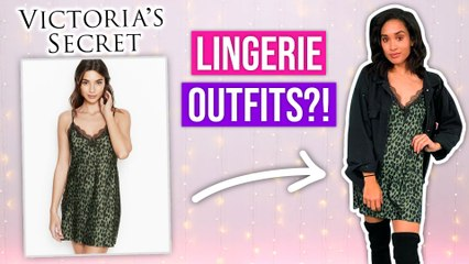Styling Lingerie As REAL Clothing?!