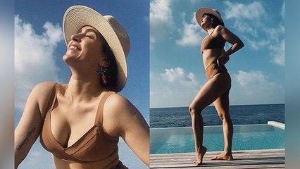 Sanya Malhotra के Bikini अवतार ने बनाया Fans को दीवाना । देखे Bold Look । Boldsky