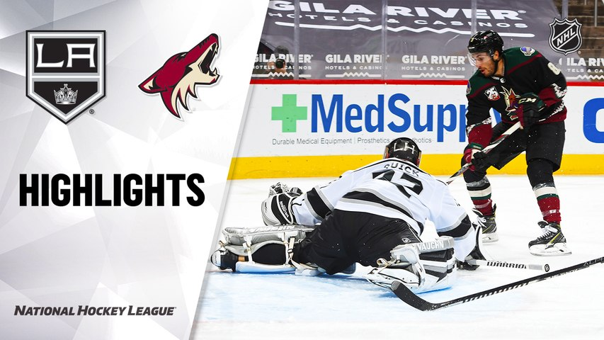 Kings @ Coyotes 2/18/21 | NHL Highlights