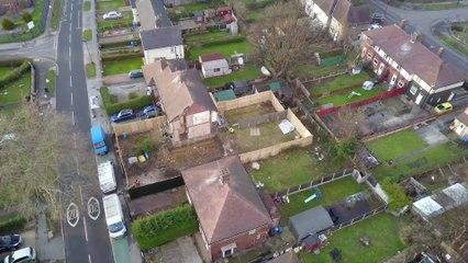 Shiregreen house where Barrass and Machin murdered their children is demolished.