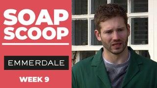 Emmerdale Soap Scoop! Jamie is dumped by Dawn