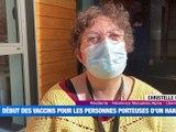 À la UNE : Les personnes porteuses de handicap sont désormais prioritaires pour la vaccination contre la COVID-19 / 10 000 œufs de saumons ont été incubés à Riorges / Dans la Loire, les forces de l'ordre ont contrôlé 13 674 personnes depuis le  couvre-feu - Le JT - TL7, Télévision loire 7