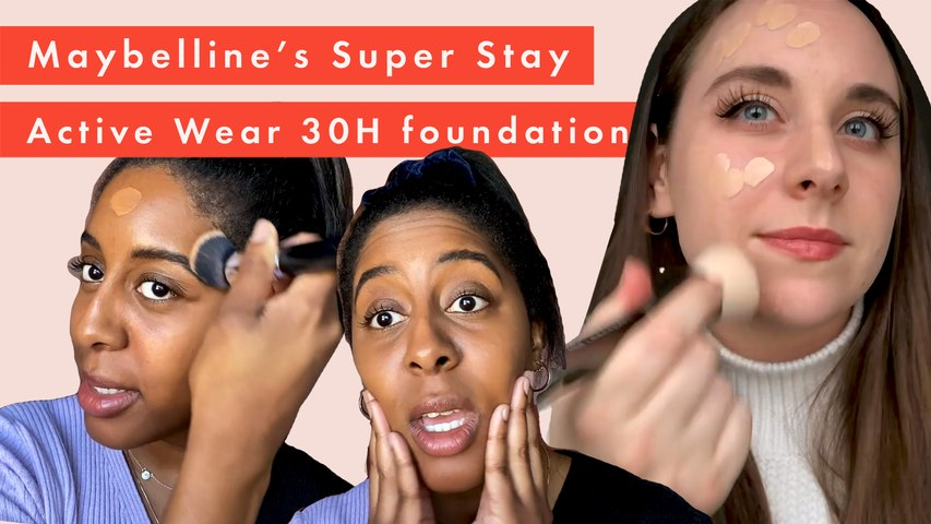 Beauty Lab test the Maybelline Superstay 30H Foundation