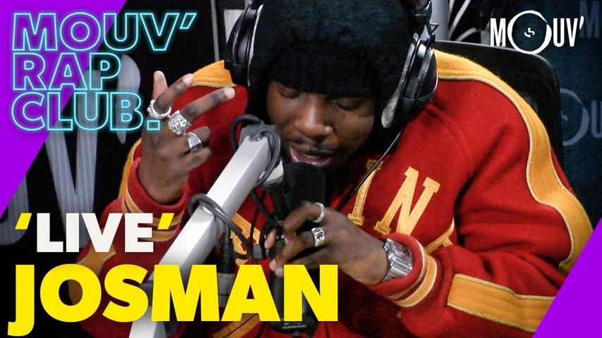 """JOSMAN - """"Décisions"""", """"New Hares (Same Sh!t)"""", """"GOAL"""" (Live @Mouv' Rap Club)"""