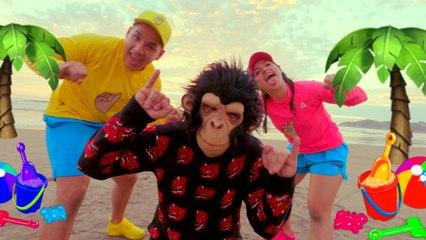 Los Meñiques De La Casa - Los Meñiques Enseñan A Comer Saludable Y Persiguen Al Mono Travieso - Videos Para Niños