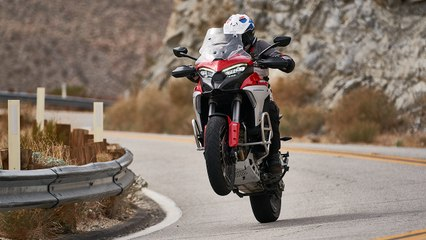 Is Ducati's Multistrada V4 the Fastest Adventure-Touring Bike?